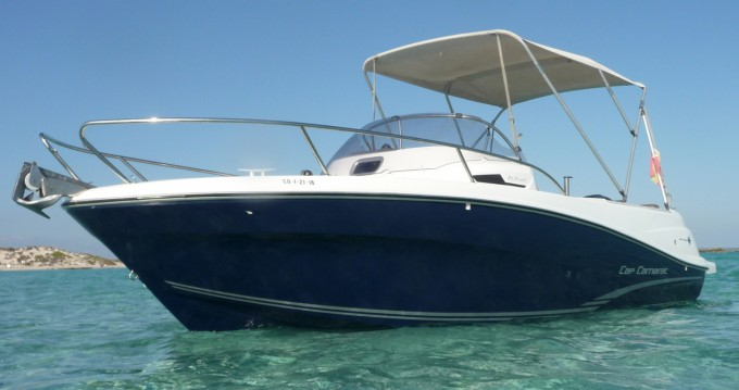 Hire Motorboat with or without skipper Jeanneau Ibiza Island