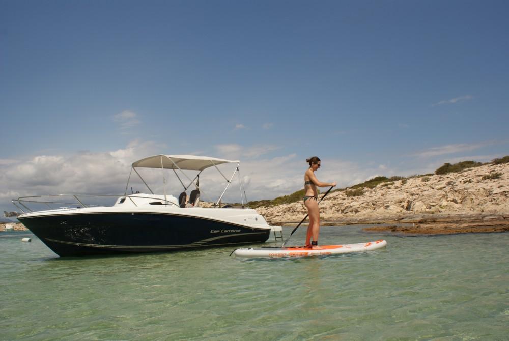 Rental Motor boat in Marina Santa Eulalia - Jeanneau Cap Camarat 6.5 WA