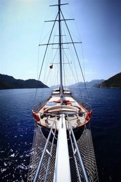 Rental Sailboat in Marmaris - Gulet Ketch - Delux