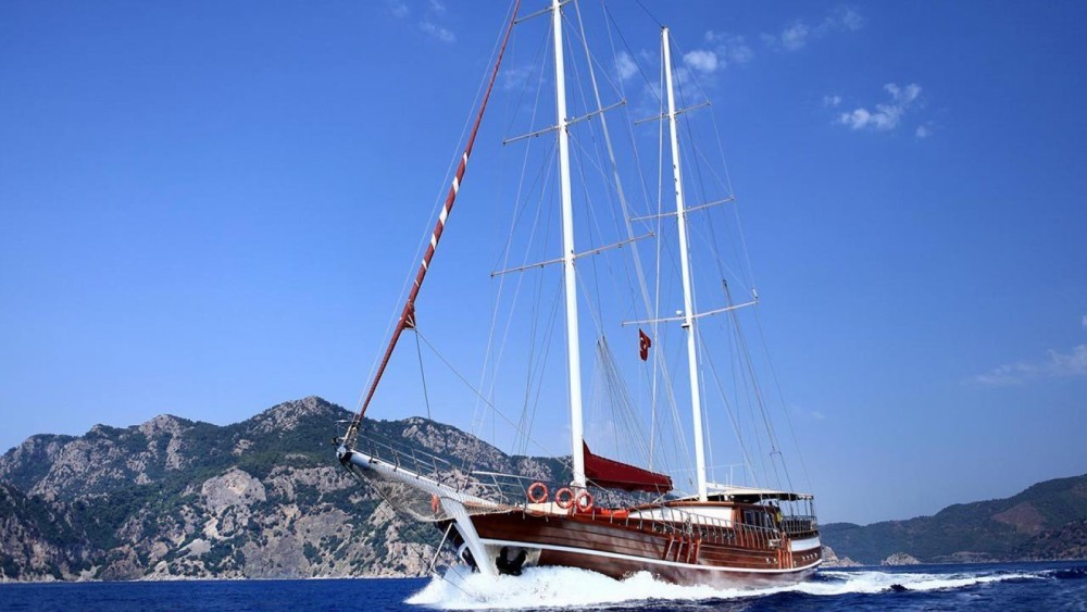 Gulet Ketch - Delux between personal and professional Aegean Region