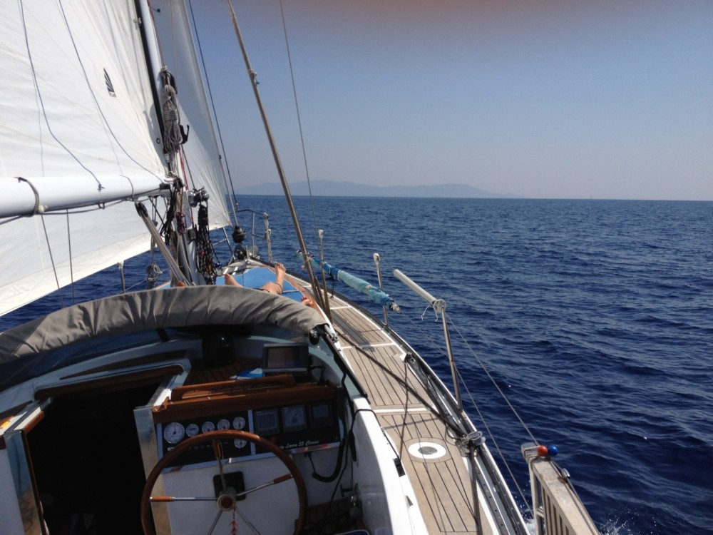 Classis Lady Laura 35 between personal and professional Ameglia