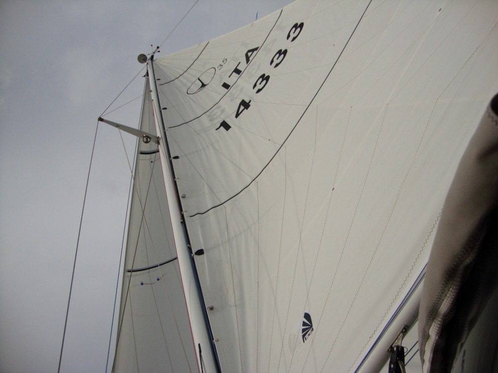 Rental Sailboat Classis with a permit