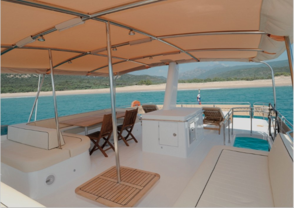 Fountaine Pajot Queensland 55 between personal and professional Kontokali