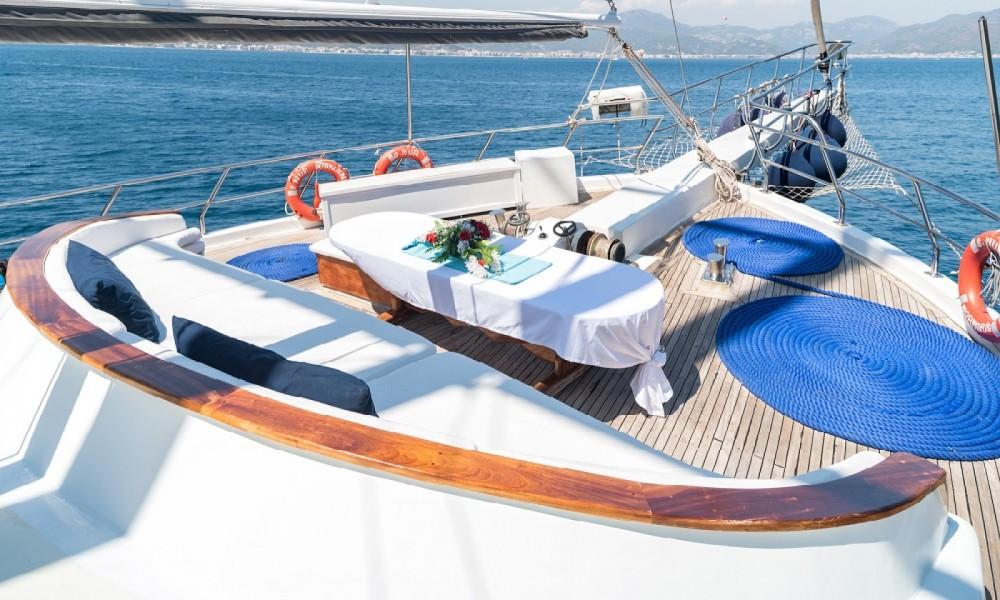 Rental yacht Aegean Region - Gulet Ketch - Ultra Deluxe on SamBoat