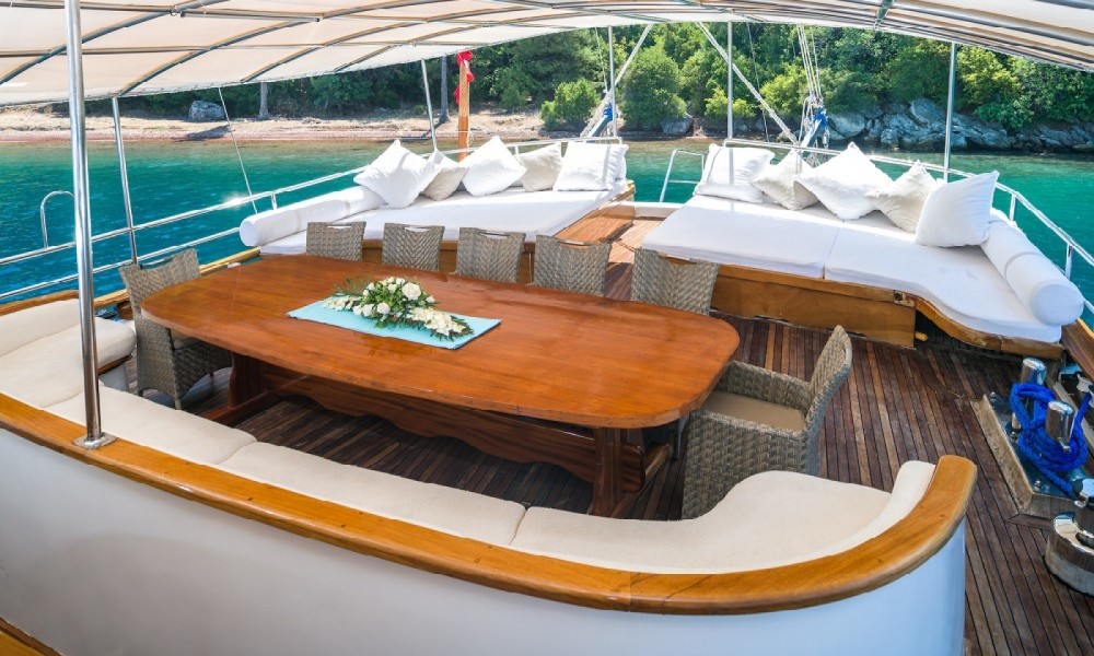 Gulet Ketch - Ultra Deluxe between personal and professional Aegean Region