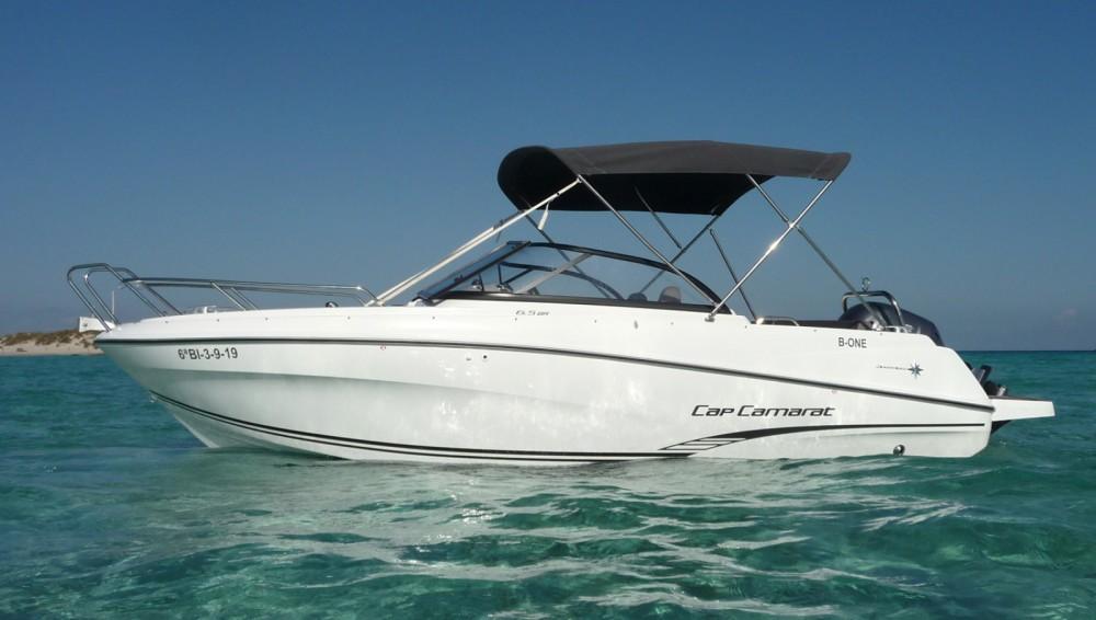 Boat rental Jeanneau Cap Camarat 6.5 BR in Balearic Islands on Samboat