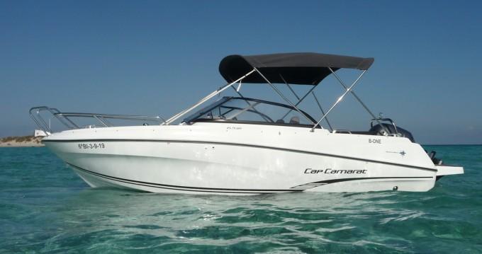 Hire Motorboat with or without skipper Jeanneau Santa Eulària des Riu
