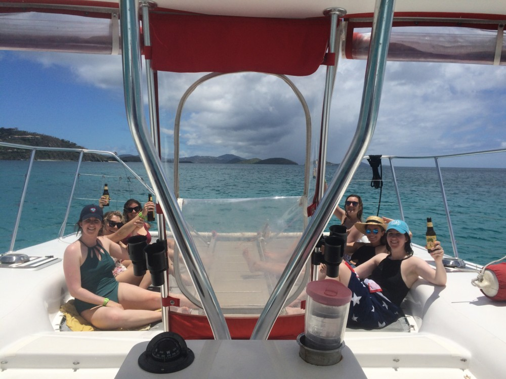 Catamaran for rent US Virgin Islands at the best price
