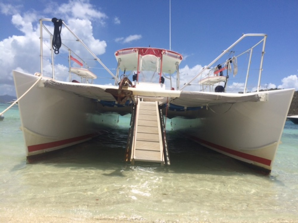 Boat rental Blue Planet 36' in Charlotte Amalie West on Samboat