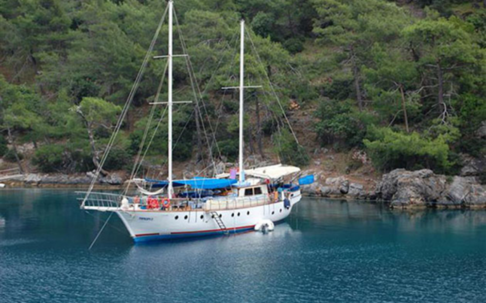 Rental Sailboat in Aegean Region - Gulet Ketch