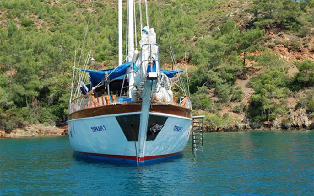 Gulet Ketch  between personal and professional Aegean Region