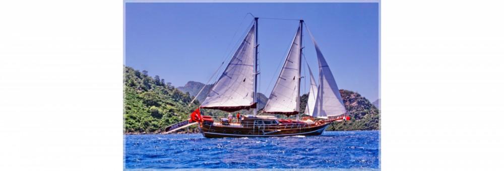 Rent a Gulet Ketch - luxe Aegean Region