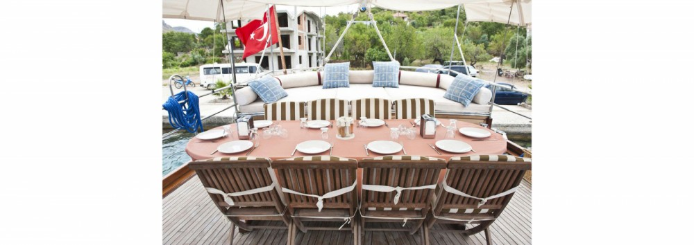 Gulet Ketch - luxe between personal and professional Aegean Region