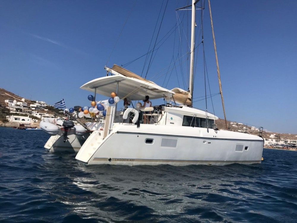 Catamaran for rent Aegean at the best price