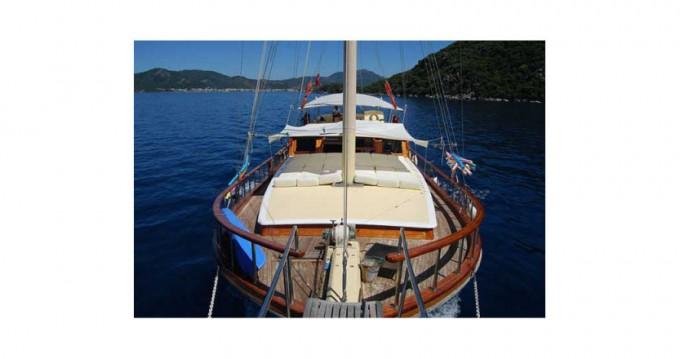 Rental Sailboat in Marmaris - Gulet Ketch - luxe