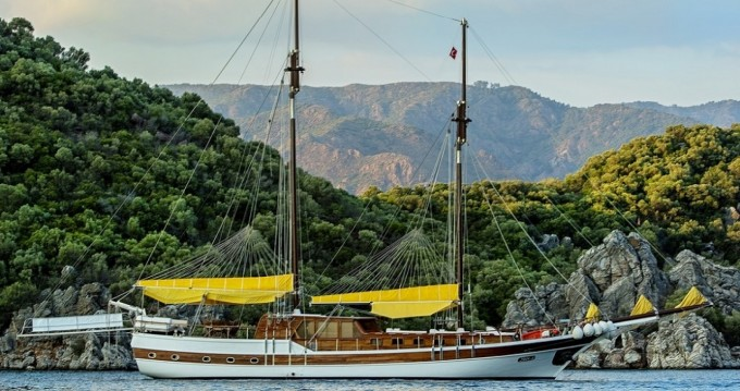 Rental Sailboat in Bodrum - Gulet Ketch - luxe