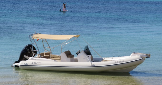 RIB for rent Ibiza Town at the best price