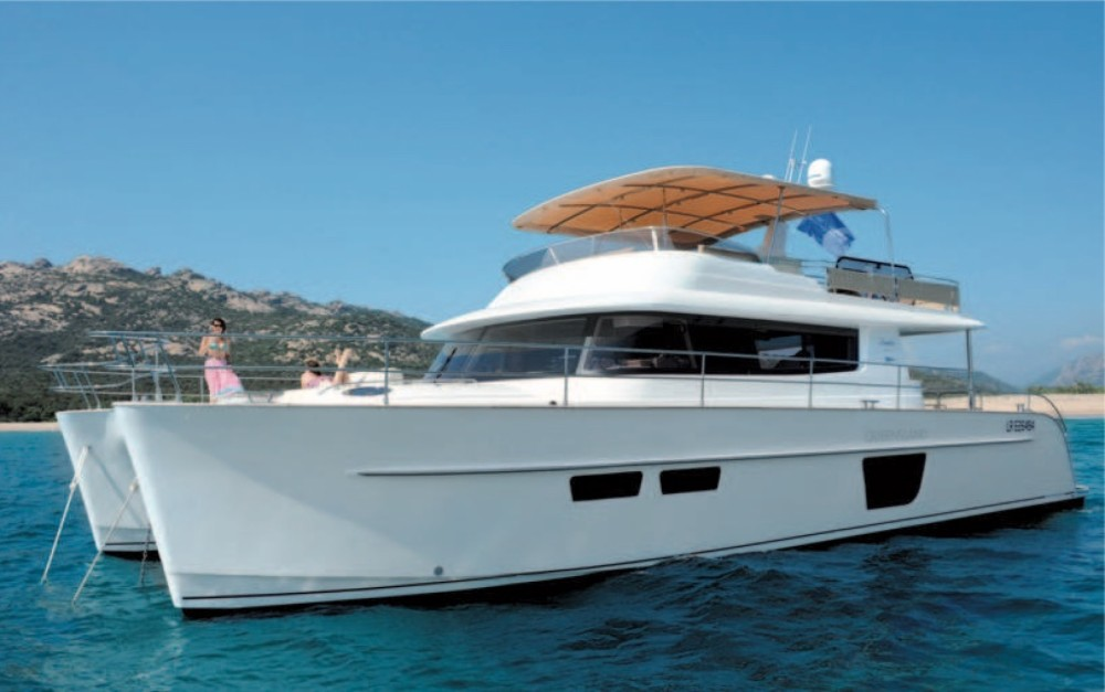 Rental Catamaran in Kontokali - Fountaine Pajot Queensland 55
