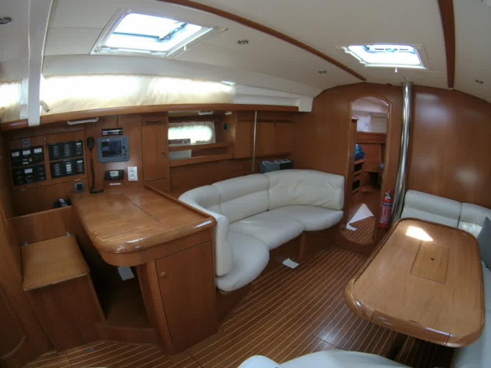 Rental Sailboat in Gouvia - Jeanneau Sun Odyssey 45