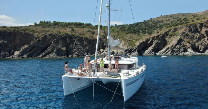 Hire Catamaran with or without skipper Lagoon La Capte