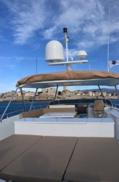 Trawler Yacht between personal and professional Ibiza
