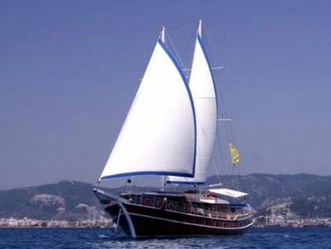 Rental Sailboat Gulet with a permit