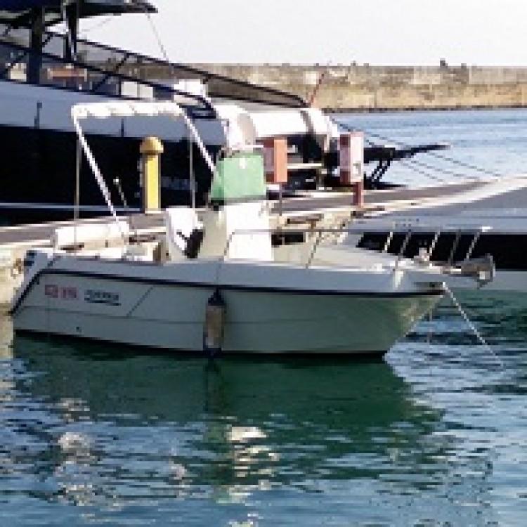 Rental Motor boat in Santa Maria di Leuca - Elan Elan Fisherman