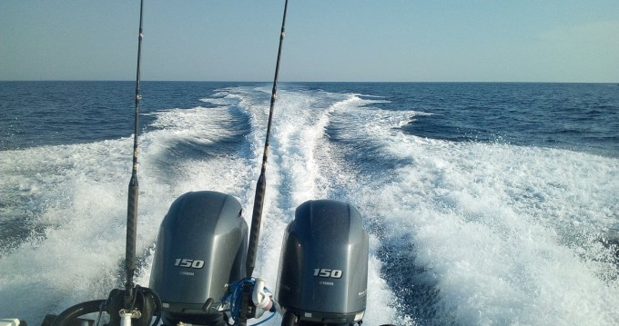 Boston Whaler fisherman between personal and professional Torre Pali