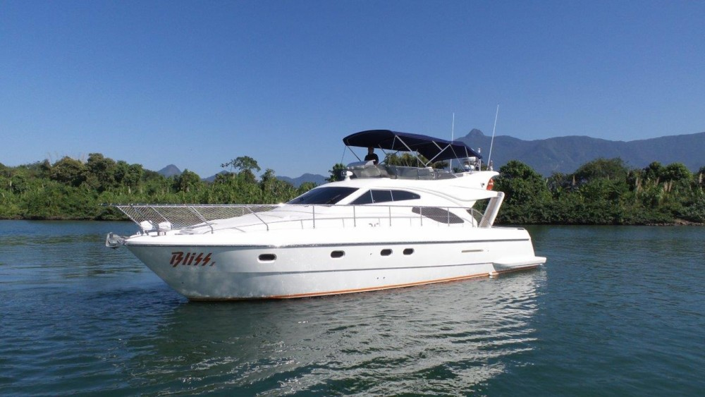 Hire Yacht with or without skipper Ferretti Angra dos Reis