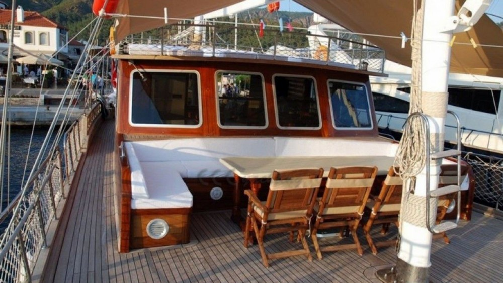 Rental Sailboat in Muğla - Gulet Ketch - Deluxe