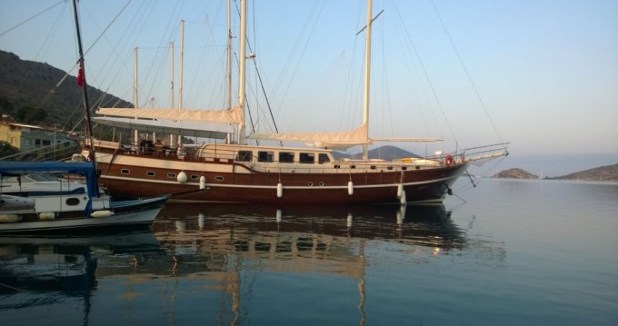 Hire Sailboat with or without skipper Gulet Marmaris