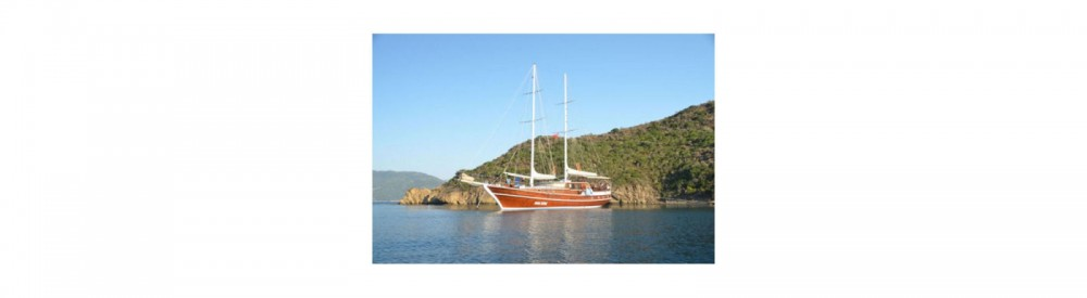 Rental Sailboat in Aegean Region - Gulet Ketch - Deluxe