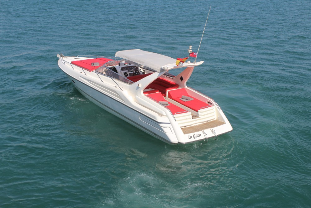 Rental Motor boat in Ibiza - Sunseeker Apache 45