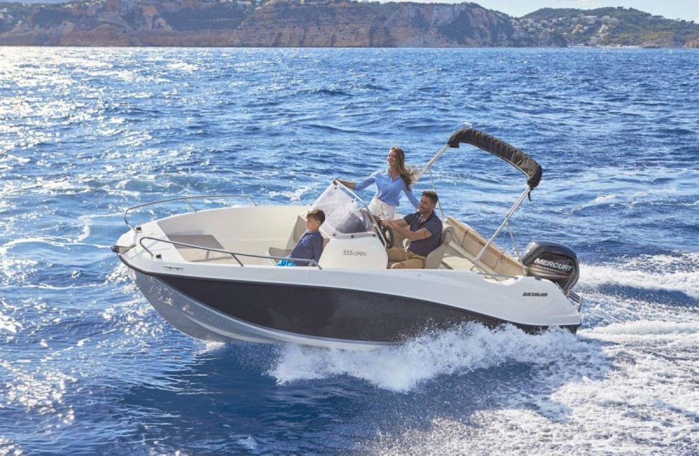 Hire Motor boat with or without skipper Quicksilver Dubrovnik