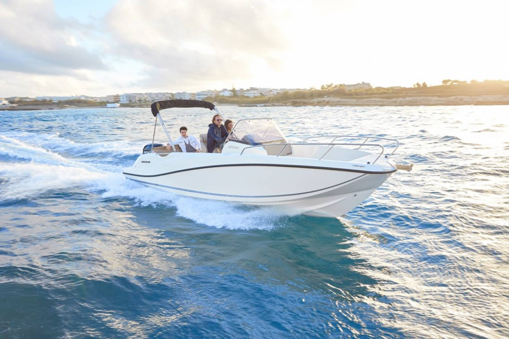 Rental Motor boat in Dubrovnik - Quicksilver 675