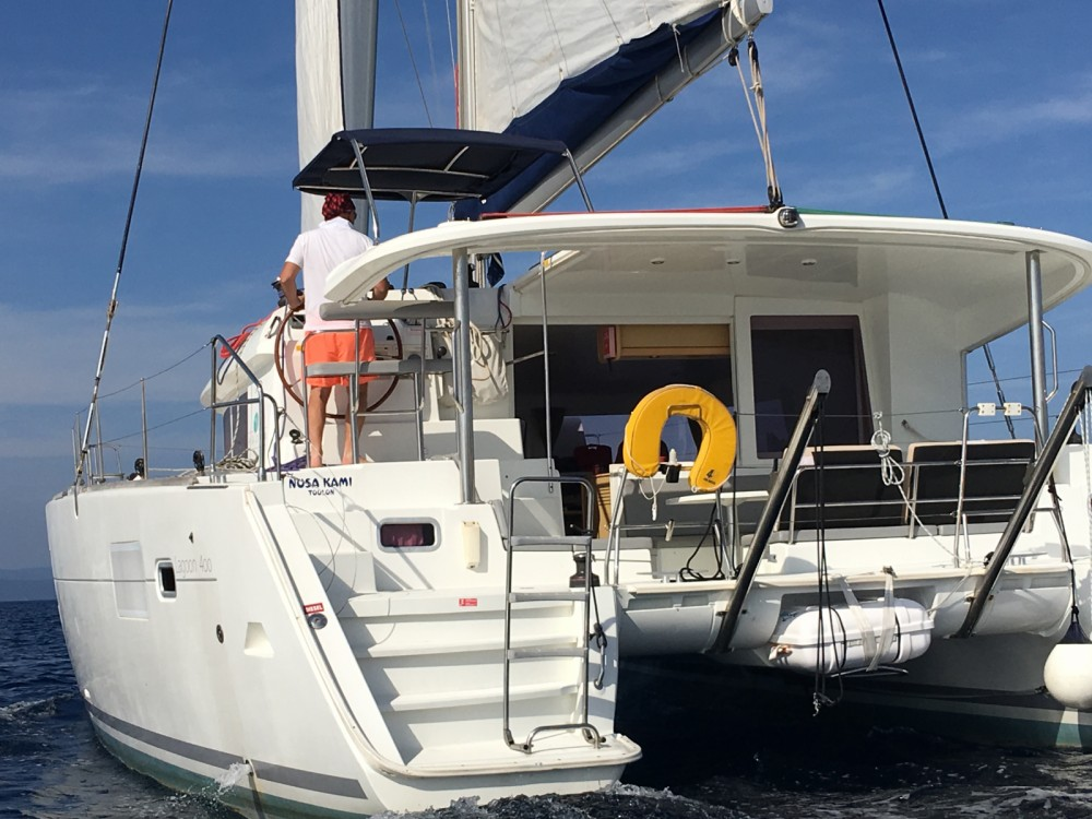 Rental Catamaran in Eivissa - Lagoon Lagoon 400