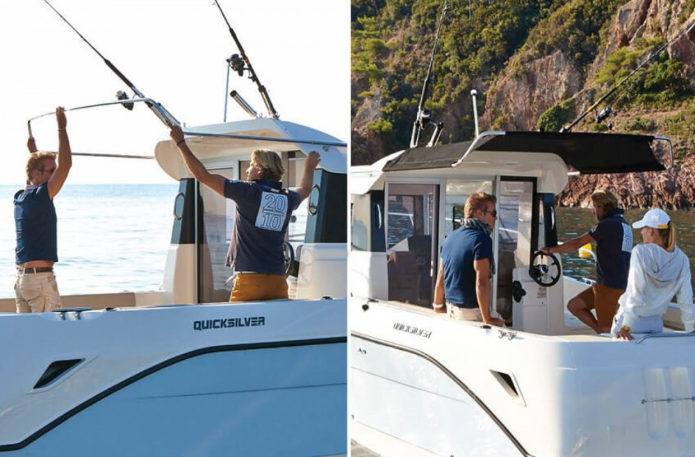 Boat rental Trogir cheap Captur 605 Pilothouse