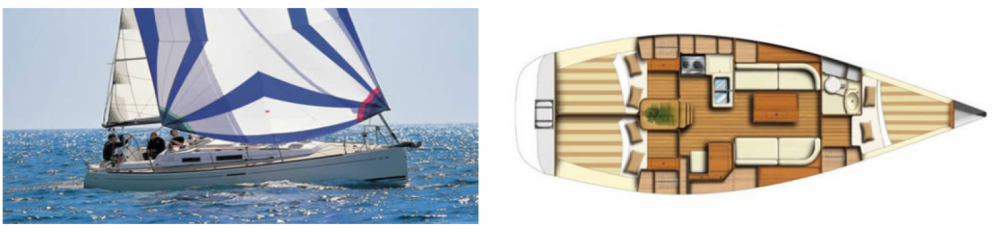Hire Sailboat with or without skipper Dufour Bénodet