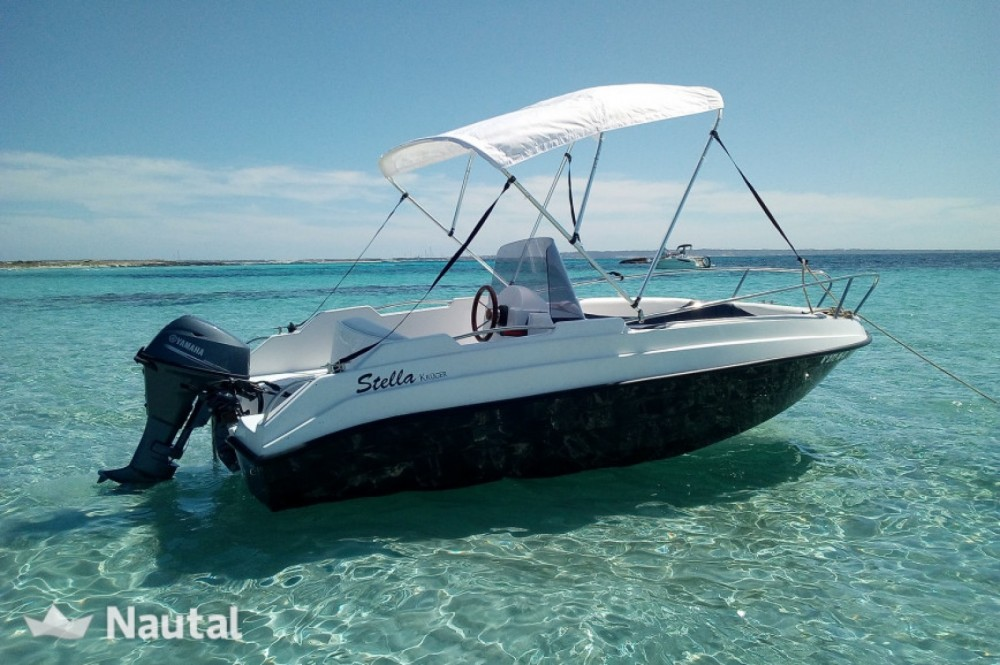 Rental Motor boat kruger with a permit