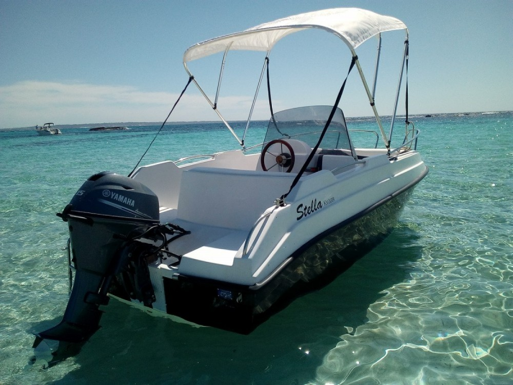 Hire Motor boat with or without skipper kruger Port Grimaud