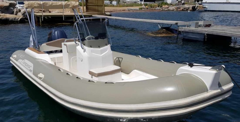 Hire RIB with or without skipper Capelli Grosseto-Prugna