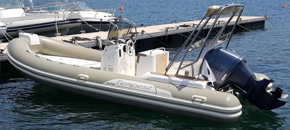 Boat rental Capelli Tempest 626 in Grosseto-Prugna on Samboat