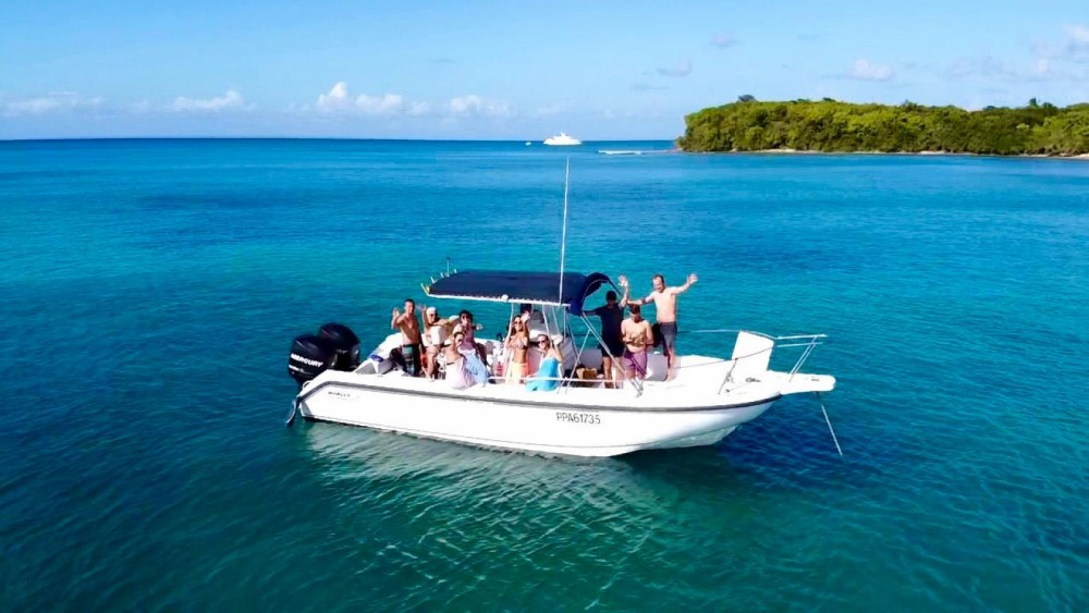 Motor boat for rent Grand-Bourg at the best price