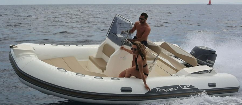 Hire Motor boat with or without skipper Capelli Roses