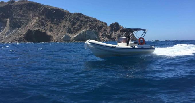 RIB for rent Santorini at the best price