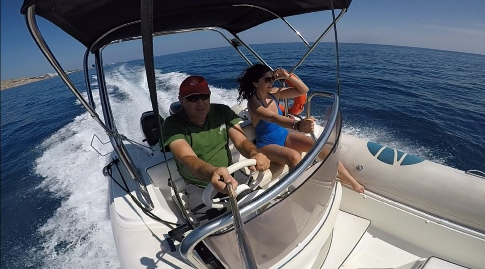 RIB for rent Aegean at the best price