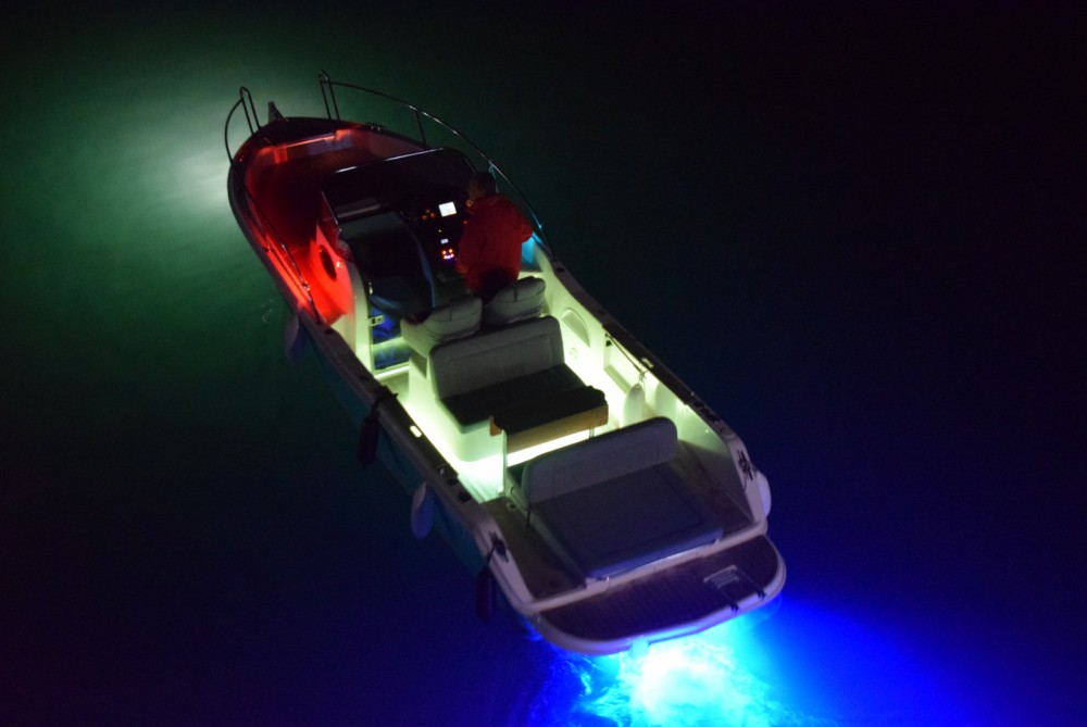 Rental Motorboat FOCUS with a permit