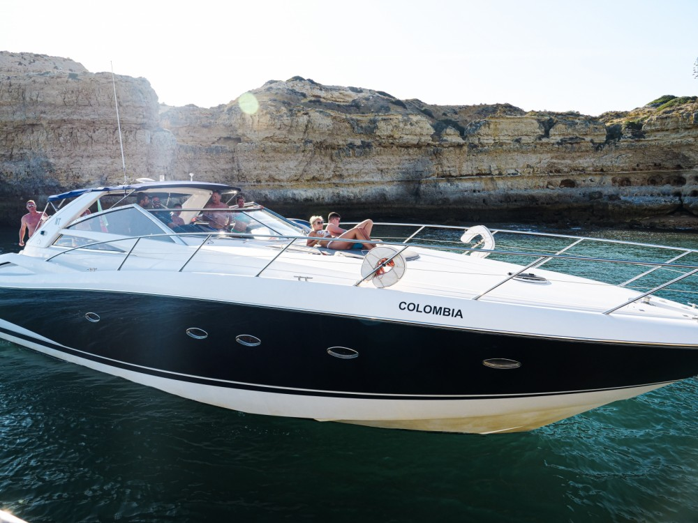Rental Yacht in Quarteira - Sunseeker Portofino 53
