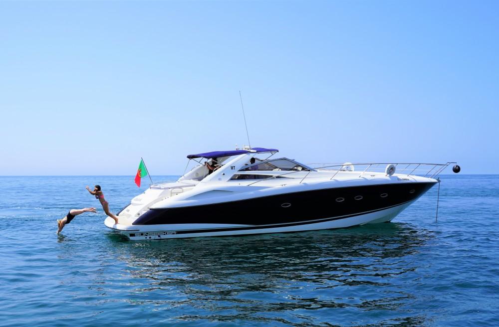 Boat rental Quarteira cheap Portofino 53
