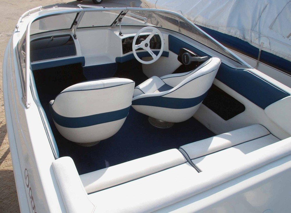 Rental Motor boat Ahellas with a permit